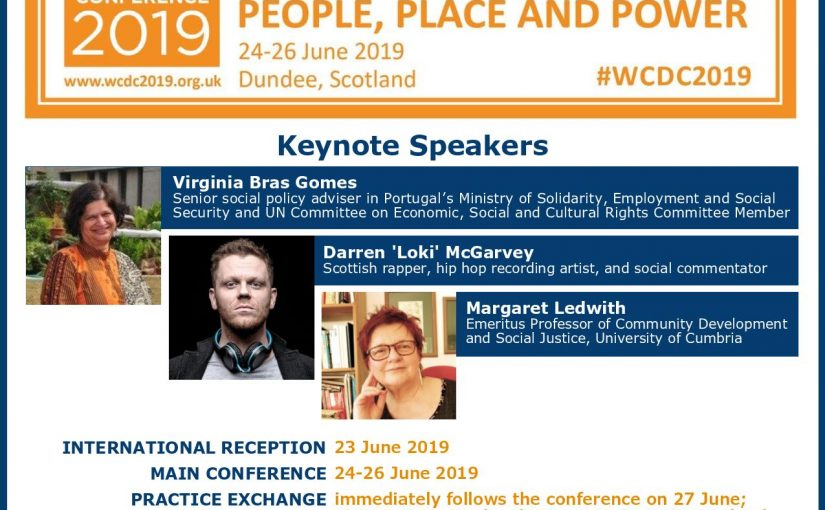 Keynote speakers announced for WCDC 2019 – IACD